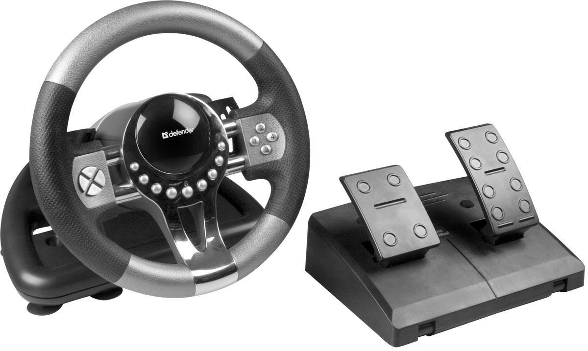 Defender Forsage GTR USB игровой руль