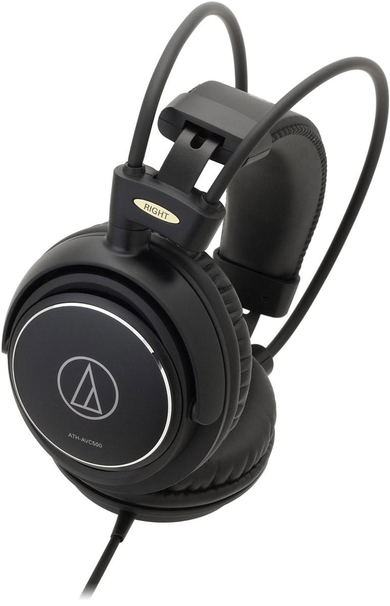 Audio-Technica ATH-AVC500 наушники4961310131739Audio-Technica ATH-AVC500 – это мониторные высококачественные наушники в прочном антивибрационном алюминиевом корпусе. Модель обеспечивает классное звучание и идеально подходит для домашнего прослушивания аудио- и видеосистем. Облегчённая конструкция и двойное оголовье позволяют наслаждаться музыкой в течение длительного времени. Большие 53-мм драйверы и звуковая CCAW-катушка обеспечивают качественное звучание на широком диапазоне частот Алюминиевый корпус подавляет нежелательные вибрации Саморегулирующееся двойное оголовье и мягкие амбушюры обеспечивают комфортную посадку
