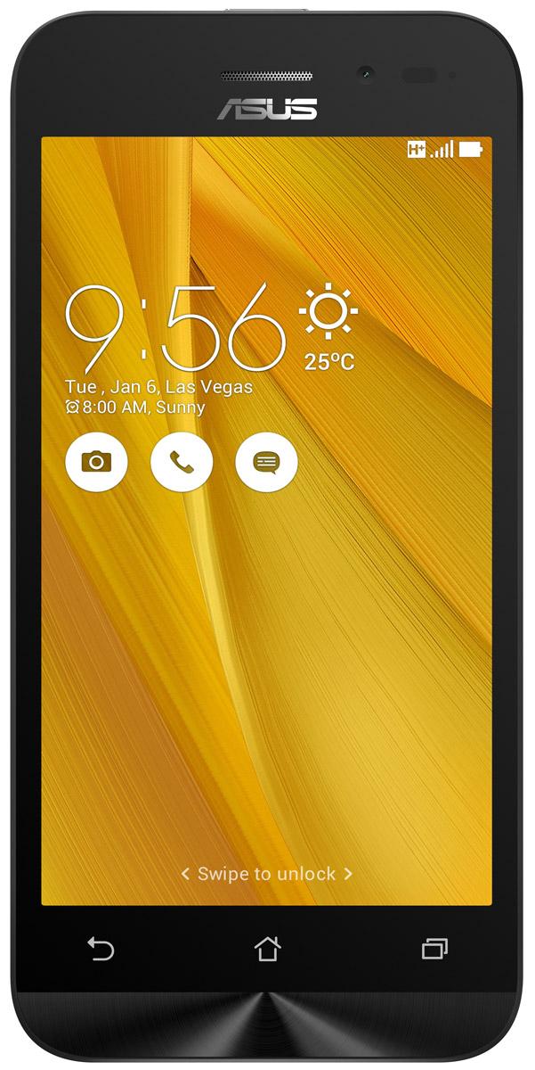 Asus ZenFone Go ZB452KG, Yellow (90AX0144-M01160)90AX0144-M01160Смартфон ZenFone Go (ZB452KG) выполнен в изящном корпусе. Обладая эргономичной формой, он украшен традиционным для мобильных устройств ASUS узором из концентрических окружностей с углублениями размером 0,13 мм. Четырехъядерный процессор: Мощный процессор Qualcomm Snapdragon 200 обеспечивает высокую производительность ZenFone Go в многозадачном режиме. Впечатляющее изображение: ZenFone Go оснащается IPS-дисплеем с разрешением 480x854 пикселей. Изображение на его экране отличается высокой яркостью, поразительной четкостью и насыщенными цветами. Высококачественная камера: Для съемки ярких фотографий данный смартфон оснащается тыловой камерой с высоким разрешением. Ловите красивые моменты жизни вместе с ZenFone Go! Поддержка двух SIM-карт: ZenFone Go оснащается двумя слотами для SIM-карт, что позволяет использовать одновременно два телефонных номера, например рабочий и личный. Применяемый в нем модуль мобильной...