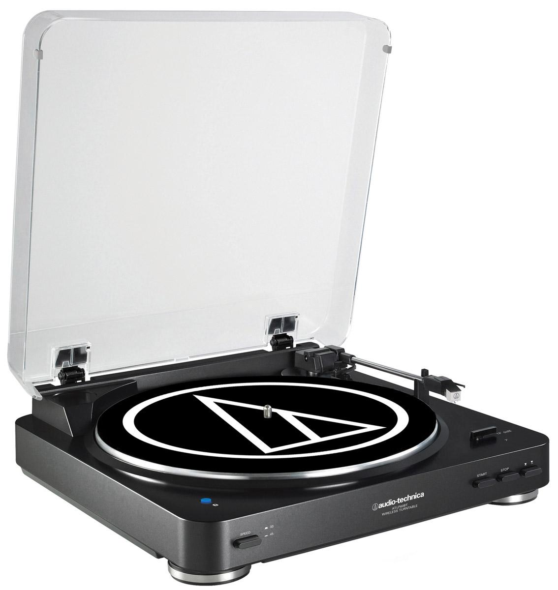 Audio-Technica AT-LP60BT, Black проигрыватель виниловых дисков
