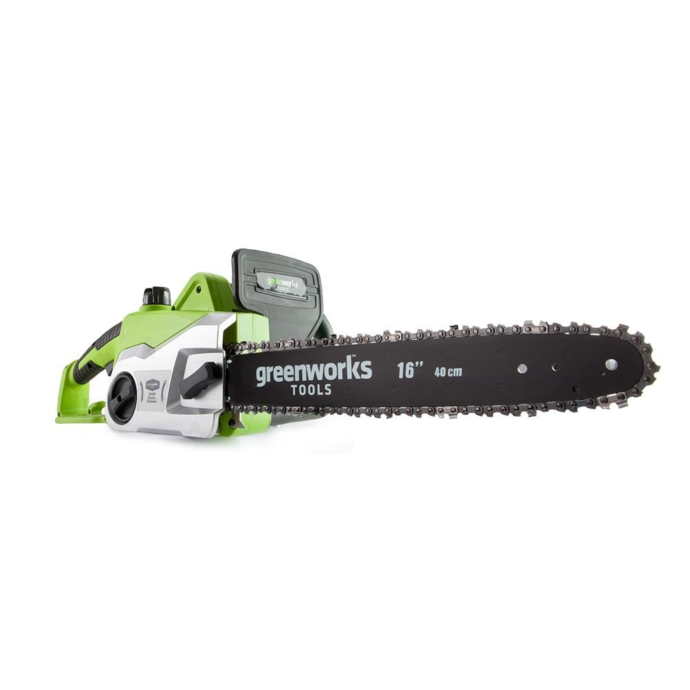 Цепная пила электрическая GreenWorks 1800W