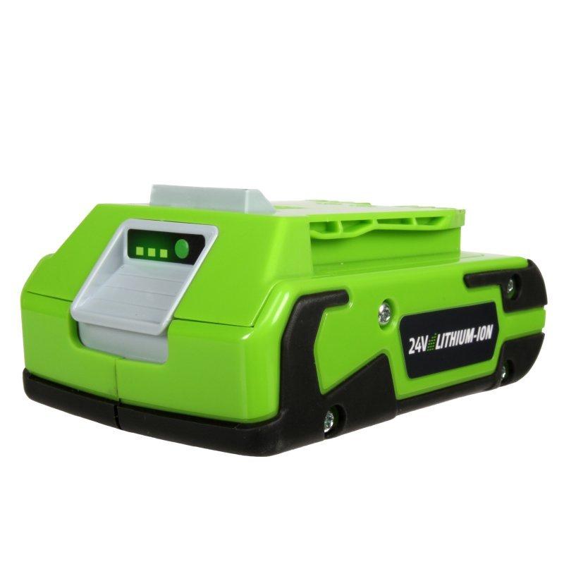 Литий-Ионная аккумуляторная батарея GreenWorks 24В 2Аh