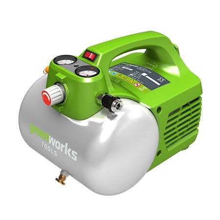 Компрессор электрический GreenWorks 6л 4101302