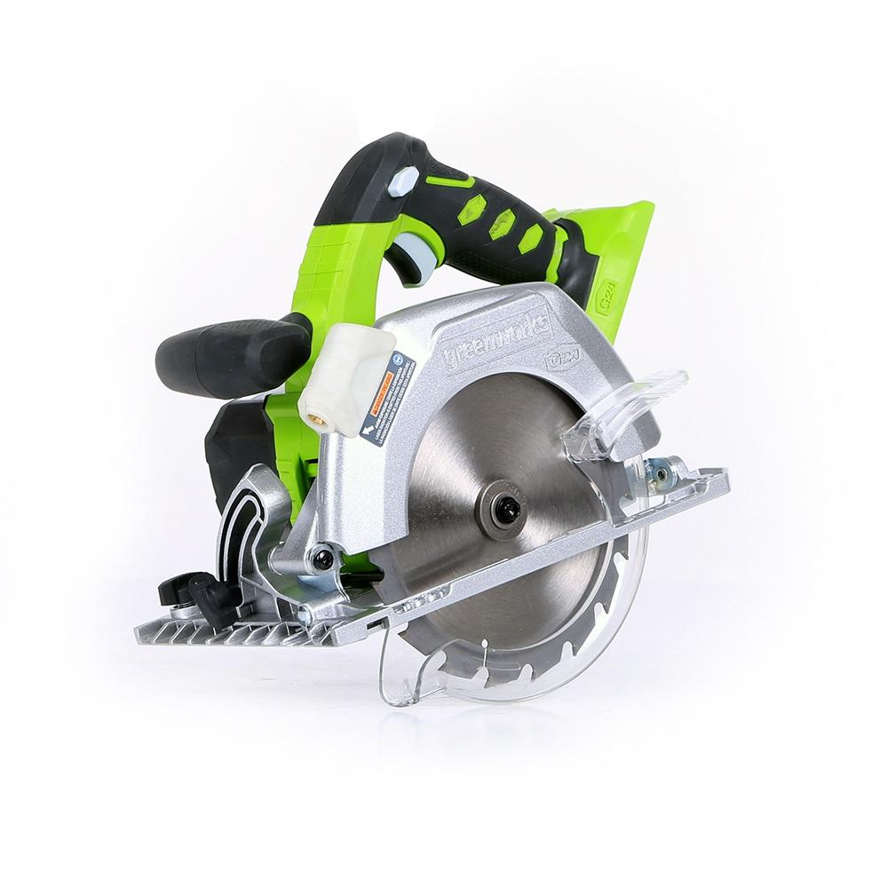 Пила циркулярная GreenWorks 24 В
