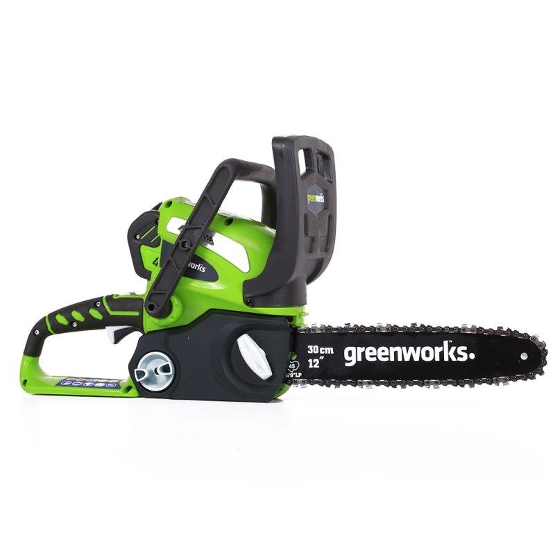 Пила цепная GreenWorks 40В