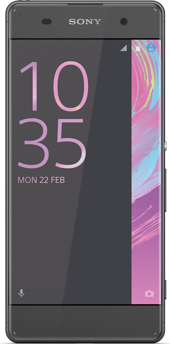Sony Xperia XA, Graphite Black7311271556633Смартфон - та вещь, которую вы всегда берете с собой. Поэтому Xperia XA спроектирован так, чтобы гармонично вписаться в вашу жизнь. Его дисплей занимает всю переднюю панель, края закруглены, а размер как раз такой, чтобы комфортно лежать в руке. Дисплей Xperia XA занимает всю ширину передней панели и его рамка почти не видна. Таким образом, мы увеличили размер дисплея, не увеличивая сам смартфон. Камера Xperia XA всегда готова к съемке - достаточно лишь нажать кнопку быстрого запуска. Впредь вы никогда не упустите даже самых быстротечных моментов. Снимайте только яркие, четкие фотографии. Xperia XA оснащен гибридным автофокусом, наводящим резкость менее чем за секунду. Вы также можете вручную сфокусировать изображение в любой точке, даже в углах: просто коснитесь дисплея в нужном месте. Хотите сделать селфи на вечеринке или запечатлеть ночной городской пейзаж? В Xperia XA используются высокочувствительные матрицы, поэтому вы...
