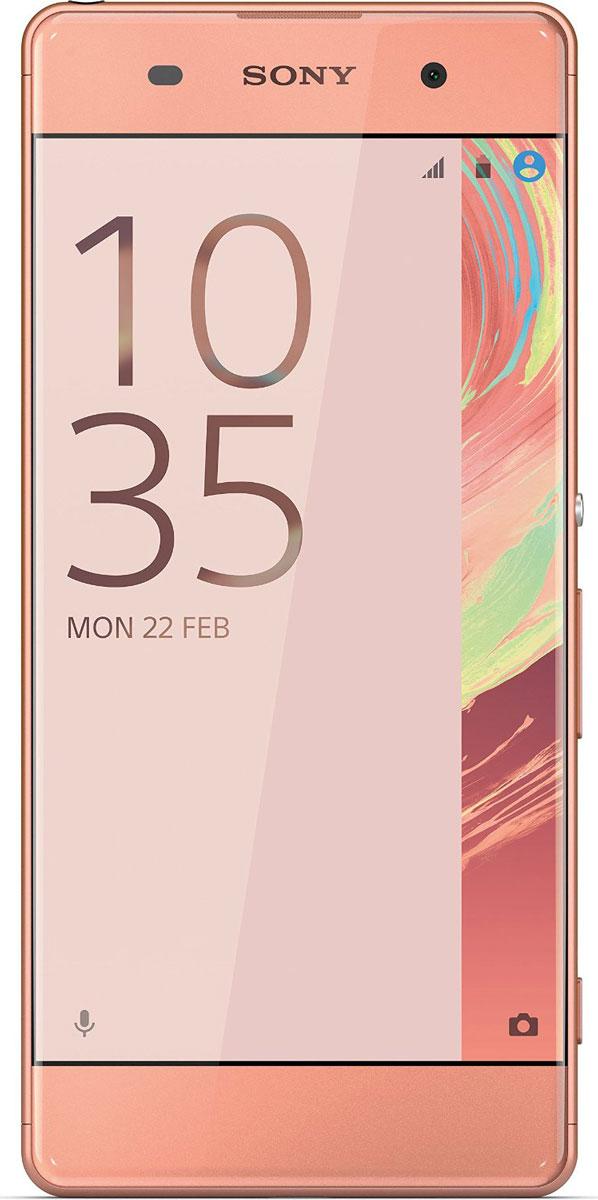 Sony Xperia XA, Rose Gold7311271556664Смартфон - та вещь, которую вы всегда берете с собой. Поэтому Xperia XA спроектирован так, чтобы гармонично вписаться в вашу жизнь. Его дисплей занимает всю переднюю панель, края закруглены, а размер как раз такой, чтобы комфортно лежать в руке. Дисплей Xperia XA занимает всю ширину передней панели и его рамка почти не видна. Таким образом, мы увеличили размер дисплея, не увеличивая сам смартфон. Камера Xperia XA всегда готова к съемке - достаточно лишь нажать кнопку быстрого запуска. Впредь вы никогда не упустите даже самых быстротечных моментов. Снимайте только яркие, четкие фотографии. Xperia XA оснащен гибридным автофокусом, наводящим резкость менее чем за секунду. Вы также можете вручную сфокусировать изображение в любой точке, даже в углах: просто коснитесь дисплея в нужном месте. Хотите сделать селфи на вечеринке или запечатлеть ночной городской пейзаж? В Xperia XA используются высокочувствительные матрицы, поэтому вы...