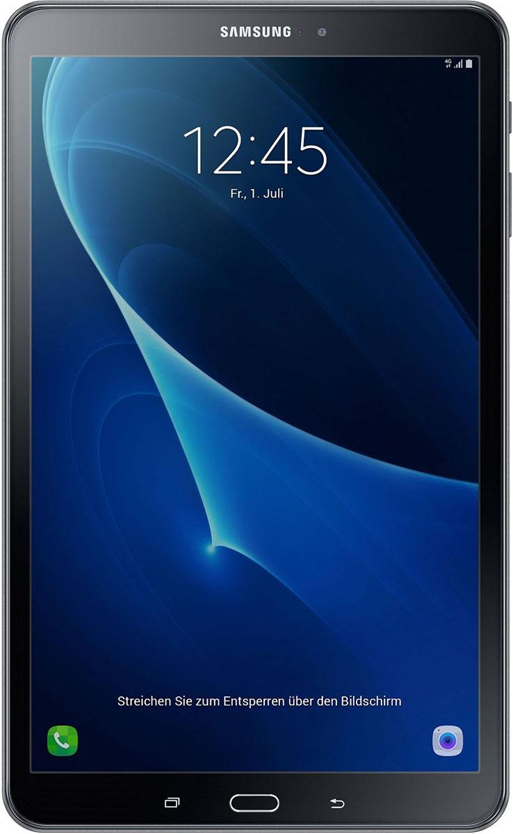 Samsung Galaxy Tab A 10.1 SM-T585, BlackSM-T585NZKASERПланшетный компьютер Samsung Galaxy Tab A 10,1 привлекает своей компактностью в сочетании с производительностью. В тонком корпусе с классическим дизайном уместилась достойная начинка: восьмиядерный процессор Samsung Exynos 7 Octa 7870 с тактовой частотой 1,6 ГГц и 2 ГБ оперативной памяти. За качественное изображение отвечает яркий и сочный 10-дюймовый экран с разрешением 1920x1200. Удобный размер планшета позволяет использовать его с одинаковым комфортом и для чтения книг, и для интернет-серфинга, и для развлечений. Точная автофокусировка помогает основной камере 8 Мпикс справиться со съемкой движущихся предметов и получить четкий снимок. Фронтальная камера 2 Мпикс придет на помощь, если нужно сделать автопортрет. Данная модель одинаково подходит как для взрослых, так и для детей. Встроенный таймер ограничивает время, проведенное ребенком за планшетом, а разнообразный увлекательный и образовательный контент поможет малышу...