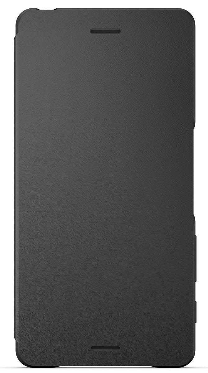 Sony SCR52 Flip Cover чехол для Xperia X, Graphite BlackSCR52 BlackЧехол разрабатывался Sony, поэтому он идеально подойдет к вашему смартфону Sony Xperia X. Он доступен в тех же расцветках, что и Xperia X, выполнен с вниманием к деталям, имеет закругленные углы и приятное покрытие. Чтобы не оставлять царапин, внутренняя поверхность покрыта мягкой замшей из микроволокна. Этот чехол не только защищает, но и выглядит на все сто. Забудьте о кнопках: когда вы открываете крышку чехла, экран смартфона автоматически разблокируется. Чтобы снова заблокировать, достаточно ее закрыть.