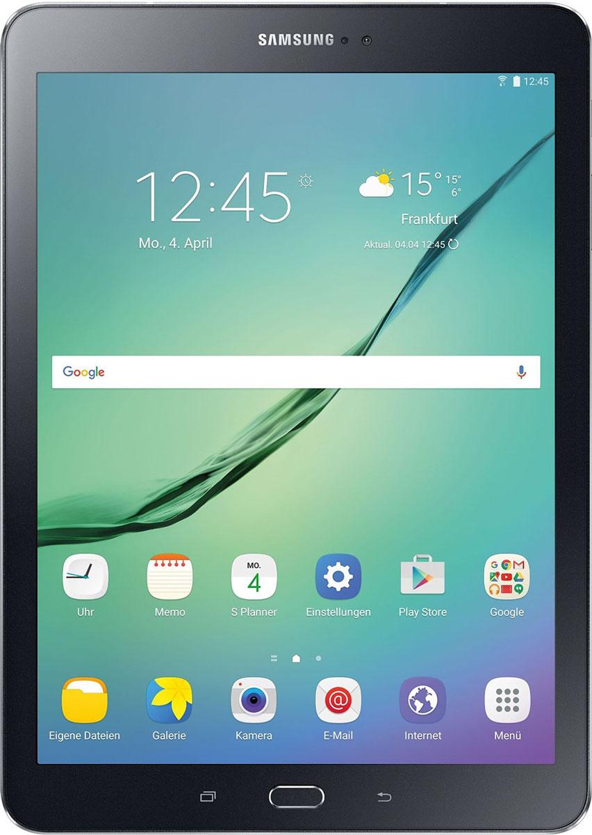Samsung Galaxy Tab S2 SM-T813, BlackSM-T813NZKESERПланшет Samsung Galaxy Tab S2 выполнен из цельно металлического корпуса с толщиной всего 5.6 миллиметров и по праву является самым тонким планшетом в мире. При весе всего 389 грамм и диагональю 9.7 дюймов является еще и самым лёгким в своём сегменте. Стоит отметить и форм-фактор дисплея, с соотношение сторон 4:3, с таким дисплеем гораздо комфортнее пользоваться социальными сетями и интернет браузером или просто читать книгу. Планшет Samsung Galaxy Tab S2 обладает потрясающим SuperAMOLED дисплеем с разрешением 2048x1536 пикселей. Восьмиядерный процессор с чистотой 1,9 ГГц , 3 гигабайта оперативной памяти и 32 встроенной, которую можно увеличить картой памяти microSD до 128 гигабайт. Основная камера, делает отличные фото даже при слабом освещении, благодаря 8 мегапикселям и светосилы 1.9, а фронтальная, 2.1 мегапикселя для скайпа и селфи. Для зашиты персональных данных воспользуйтесь инновационным сканером отпечатка пальцев. Или блокируйте планшет по...