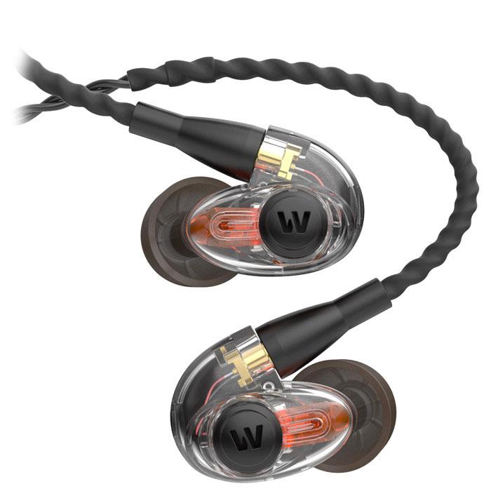 Westone AM PRO10, Clear наушники15118493До сегодняшнего дня исполнителям приходилось выбирать, что слышать в наушниках во время выступления: выделенный микс или окружающую среду. Традиционные полуоткрытые мониторные наушники позволяют слышать внешнюю среду, но их тип конструкции значительно ухудшает частотные характеристики. Благодаря эксклюзивной технологии Westone SLED ты сам контролируешь, что хочешь слышать. Наслаждайся полным частотным диапазоном своего микса, взаимодействуй с другими исполнителями и своей аудиторией. Эти наушники рекомендуется использовать для сценического мониторинга, в особенности для выступления в команде. Арматурный драйвер: запатентованная конструкция обеспечивает точное и детализированное звучание Акустическая симметрия: отклик левого и правого наушника +/- 3 дБ Фирменная технология SLED: комбинирует пассивные окружающие звуки с мониторингом Технология True-Fit: эргономичный дизайн позволяет использовать наушники с комфортом в течение долгого времени