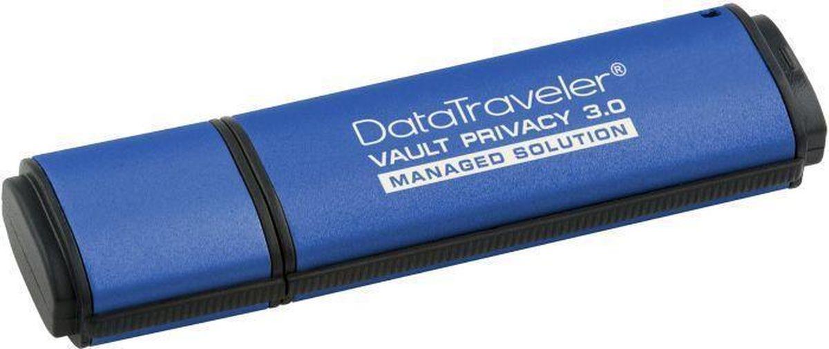 Kingston DataTraveler Vault Privacy 3.0 4GB USB-накопительDTVP30/4GBФлэш-драйв Kingston DataTraveler Vault Privacy 3.0, 4 Гб, USB 3.0