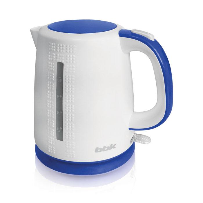 BBK EK1730P, White Light Blue электрический чайник