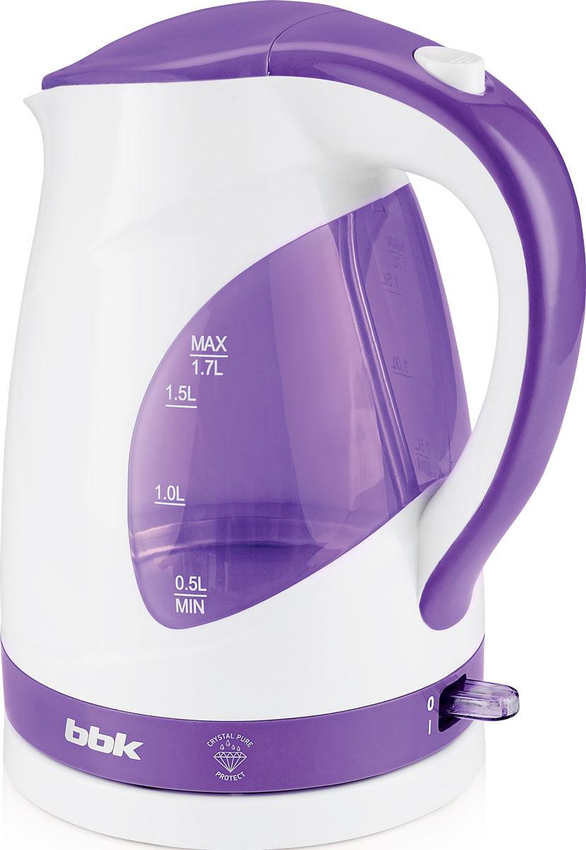 BBK EK1700P, White Purple электрический чайник