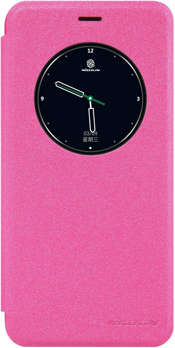 Nillkin Sparkle Leather Case чехол для Meizu Pro 6, Pink874004Y0396Компактный, легкий, стильный чехол-книжка Nillkin Sparkle Leather Case изготовлен из качественной искусственной кожи и прочного пластика. Он обеспечивает амортизацию удара при непредвиденном падении устройства и позволяет пользоваться всеми функциями не вынимая смартфон из чехла. Nillkin Sparkle надежно защитит ваш гаджет от повреждений, пыли, отпечатков пальцев и царапин.