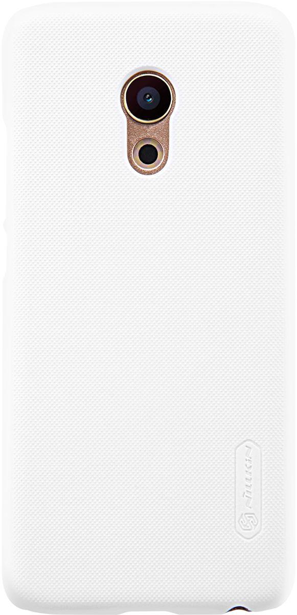 Nillkin Frosted Shield чехол для Meizu Pro 6, White874004Y0392Чехол Nillkin Frosted Shield разработан специально для Meizu Pro 6 и обеспечивает доступ ко всем кнопкам и портам устройства. Задняя сторона изготовлена из шершавого пластика, телефон с таким чехлом не выскальзывает из рук. Frosted Shield устанавливается сверху на оригинальную заднюю крышку вашего телефона и защищает от повреждений, пыли и грязи, а также без помех позволяет пользоваться камерой.