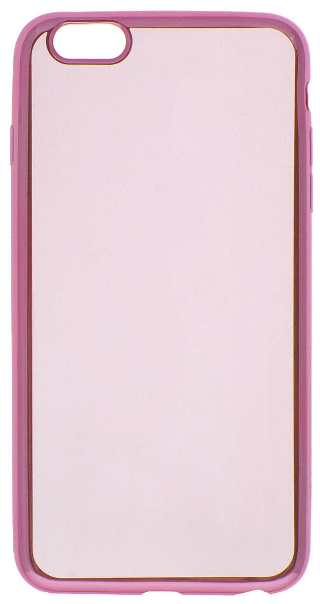 Red Line iBox Blaze чехол для iPhone 6 Plus/6s Plus, PinkУТ000008424Декоративный защитный чехол - накладка Red Line iBox Blaze для iPhone 6 Plus/6s Plus с эффектом металлических граней надежно защитит заднюю крышку смартфона от пыли, царапин и других возможных повреждений.