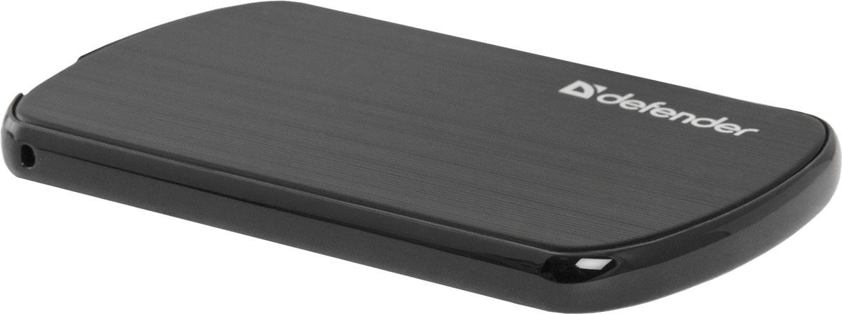 Defender ExtraLife Terra внешний аккумулятор (1650 мАч)83621Универсальный внешний аккумулятор Defender ExtraLife Terra в стильном ультратонком металлическом корпусе совместим с большинством мобильных устройств. USB-порт позволят вам зарядить ваш мобильный или планшет где бы вы ни находились. Defender ExtraLife Terra подходит для энергоемких гаджетов, он разработан специально для питания и заряда современных USB-cовместимых устройств, таких как сотовые телефоны и смартфоны, планшеты и портативная электроника. Емкость аккумулятора составляет 1650 мАч, также прибор оснащен токовой защитой USB-портов.