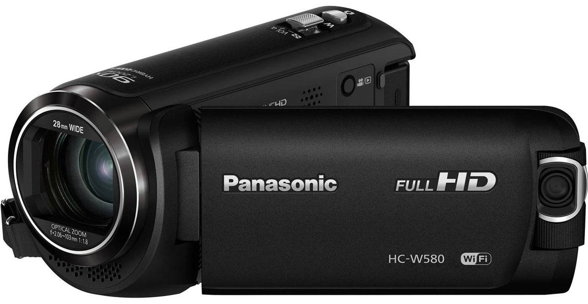 Panasonic HC-W580, Black видеокамера