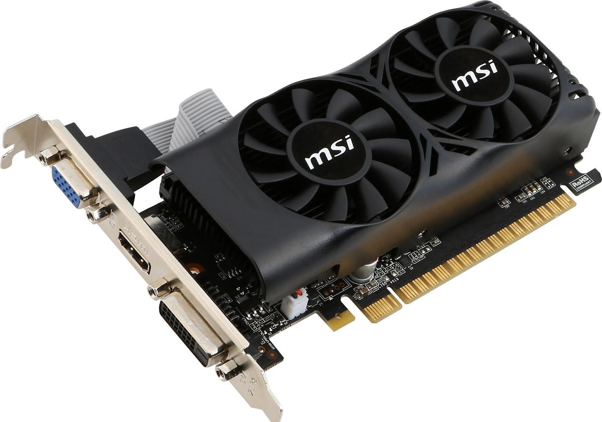 MSI GeForce GTX 750Ti 2GB видеокарта (N750TI-2GD5TLP) ( N750TI-2GD5TLP )