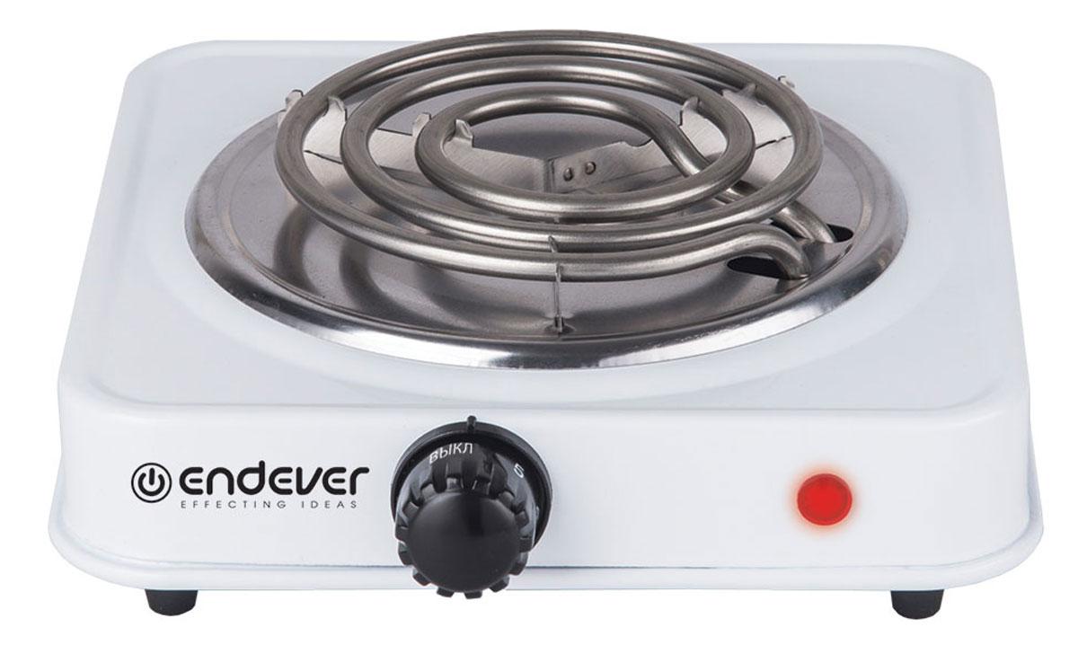 Endever EP-10W плитка электрическаяEP-10WНадежная электроплита Endever EP-10W с конфоркой диаметром 15,5 см. Идеальна для дома и дачи, в любое время года. Компактный корпус, покрытый эмалью, позволяет легко мыть и ухаживать за прибором. Имеет регулятор нагрева и индикацию включения. 5 режимов регулировки температуры Встроенный термостат Прорезиненные ножки Спиралевидная конфорка Быстрый нагрев Длина шнура: 1,6 м