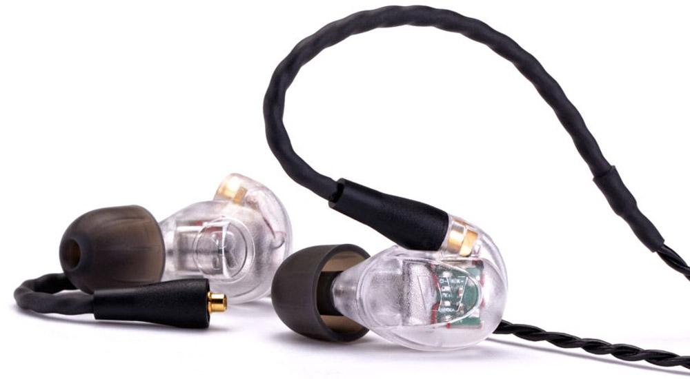 Westone UM PRO30, Clear наушники15116759Вставные наушники, съемный кабель, три драйвера на наушник, частотный диапазон 20-18 000Гц, сопротивление 56Ом, цвет корпуса - прозрачный