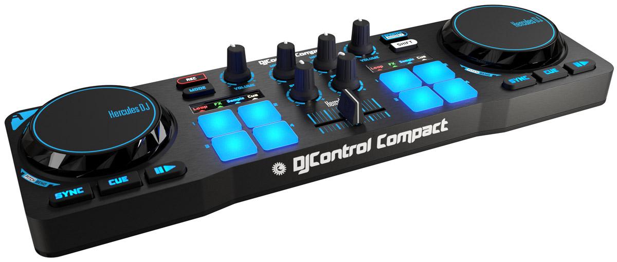 Hercules DJControl Compact DJ-контроллер 4780843