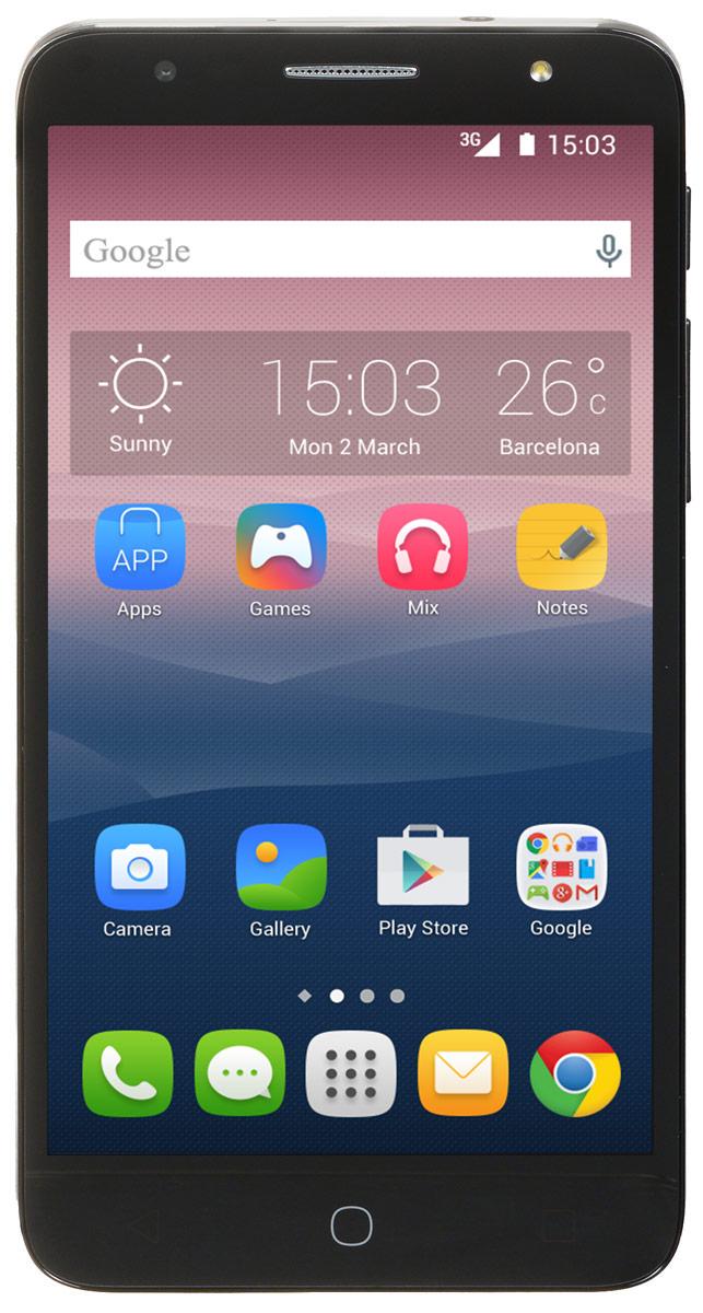 Alcatel OT-5056D Pop 4 Plus, Slate4894461367330Alcatel OT-5056D Pop 4 Plus - стильный и недорогой смартфон со всеми современными функциями и возможностями. HD IPS экран смартфона Alcatel OT-5056D Pop 4 Plus с диагональю 5,5 дюймов позволит вам наслаждаться кино, играми и другими развлечениями. Четырехъядерный процессор обеспечивает плавную работу сразу нескольких приложений, запущенных одновременно. А благодаря технологии 4G LTE вы сможете быстрее загружать видео и с комфортом просматривать страницы в Интернете. Благодаря 8-мегапиксельной основной камере со множеством фильтров и автофокусом на лице, а также 5- мегапиксельной фронтальной камере вы можете создавать яркие и интересные фотоснимки. Используйте встроенный в телефон приёмник GPS для определения своего местоположения с точностью до нескольких метров. Телефон сертифицирован EAC и имеет русифицированную клавиатуру, меню и Руководство пользователя.