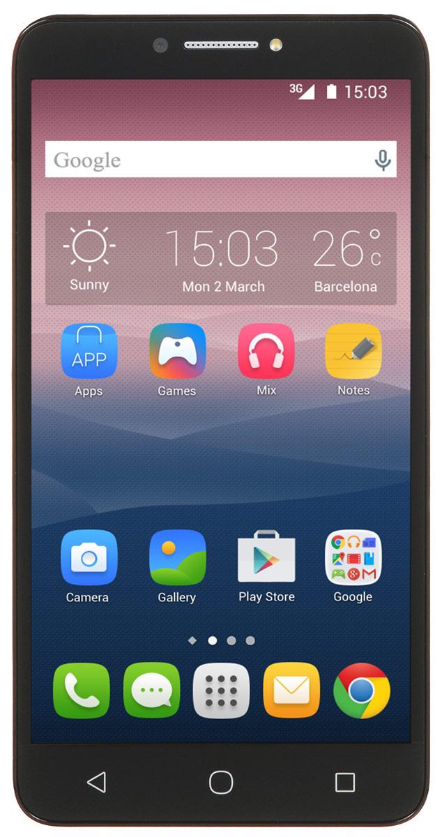 Alcatel OT-9001D Pixi 4 (6), Black9001D-2AALRU1Стильный смартфон Alcatel OT-9001D Pixi 4 (6) под управлением Android 6 с поддержкой 2 SIM-карт. Большой дисплей диагональю 6 имеет разрешение 1280х720 пикселей. Устройство также оснащено основной 8- мегапиксельной камерой с автофокусом, которая с легкостью запечатлеет радостные и интересные моменты вашей жизни, а также фронтальной камерой с разрешением 5 мегапикселей для эффектных селфи. С помощью встроенных модулей Bluetooth и Wi-Fi вы можете передавать информацию (изображения, видео- и аудиофайлы) по беспроводному соединению. Четырехъядерный процессор, 16 Гб памяти, многоэкранный режим — это как мощный компьютер. Только на вашей ладони! Телефон сертифицирован EAC и имеет русифицированный интерфейс меню и Руководство пользователя.