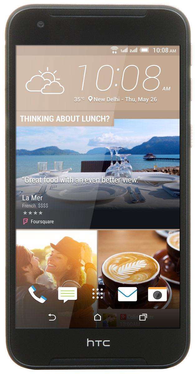 HTC Desire 830 dual sim, Black Gold