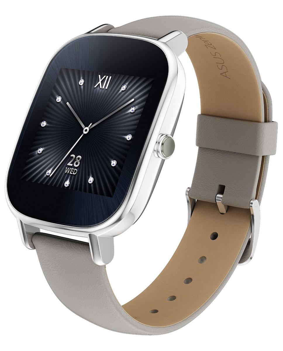 ASUS ZenWatch 2 WI502Q(BQC), Silver Khaki смарт-часы4712900359718Asus ZenWatch 2 - традиции и инновации в одном стильном устройстве. ZenWatch 2 - это стильные часы с мощной функциональностью. Корпус часов изготавливается из высококачественной нержавеющей стали. Отражая традиционный дизайн часов, на корпусе ZenWatch 2 имеется металлическая кнопка, которая используется в качестве элемента управления. Помимо 60 стандартных циферблатов можно создавать свои собственные варианты оформления экрана часов с помощью приложения FaceDesigner. С помощью часов ZenWatch 2 можно легко обмениваться короткими текстовыми сообщениями, смайликами и рисунками с друзьями и близкими. Просматривайте важную информацию и реагируйте на нее простым прикосновением к экрану или с помощью голосовой команды. Встроенный в часы шагомер обладает высокой точностью, позволяя пользователю следить за своей физической активностью и прогрессом в достижении фитнес-целей. Также имеется функция мониторинга сна. ...