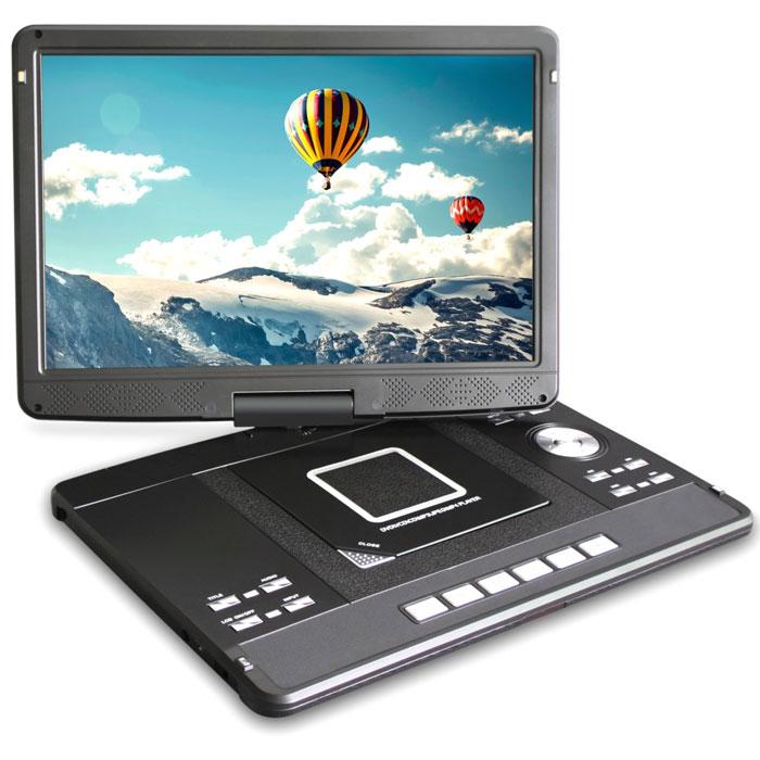 Rolsen RPD-13D08D, Black портативный DVD-плеер