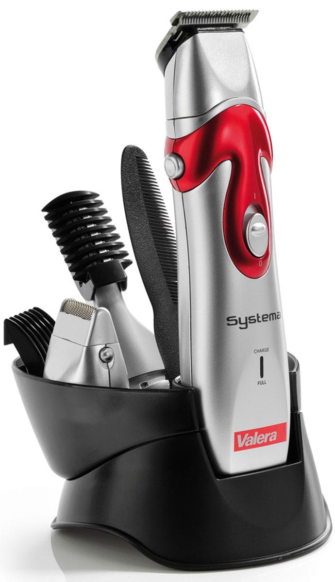 Valera 654.01 Systema, Silver машинка для стрижки волос и бороды