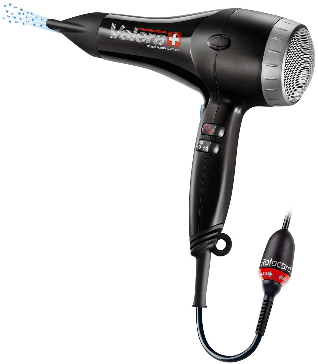 Valera ST 8200T RC Swiss Turbo Ionic, Black профессиональный фен