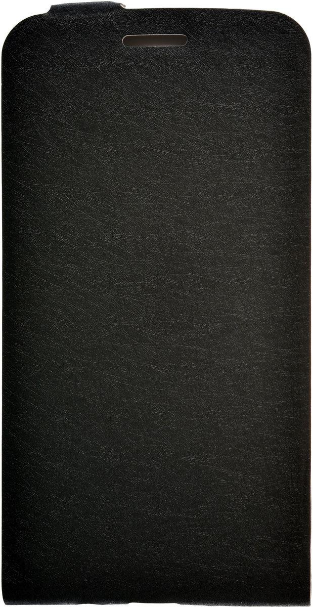 Skinbox Slim флип-чехол для LG K8, Black2000000085968Флип-чехол Skinbox Slim для LG K8 надежно защищает ваш смартфон от внешних воздействий, грязи, пыли, брызг. Он также поможет при ударах и падениях, не позволив образоваться на корпусе царапинам и потертостям. Чехол обеспечивает свободный доступ ко всем функциональным кнопкам смартфона и камере.
