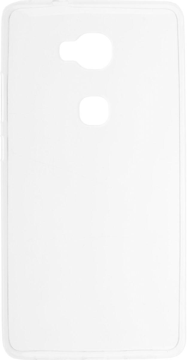 Skinbox Slim Silicone чехол-накладка для Huawei Honor 5X, Clear