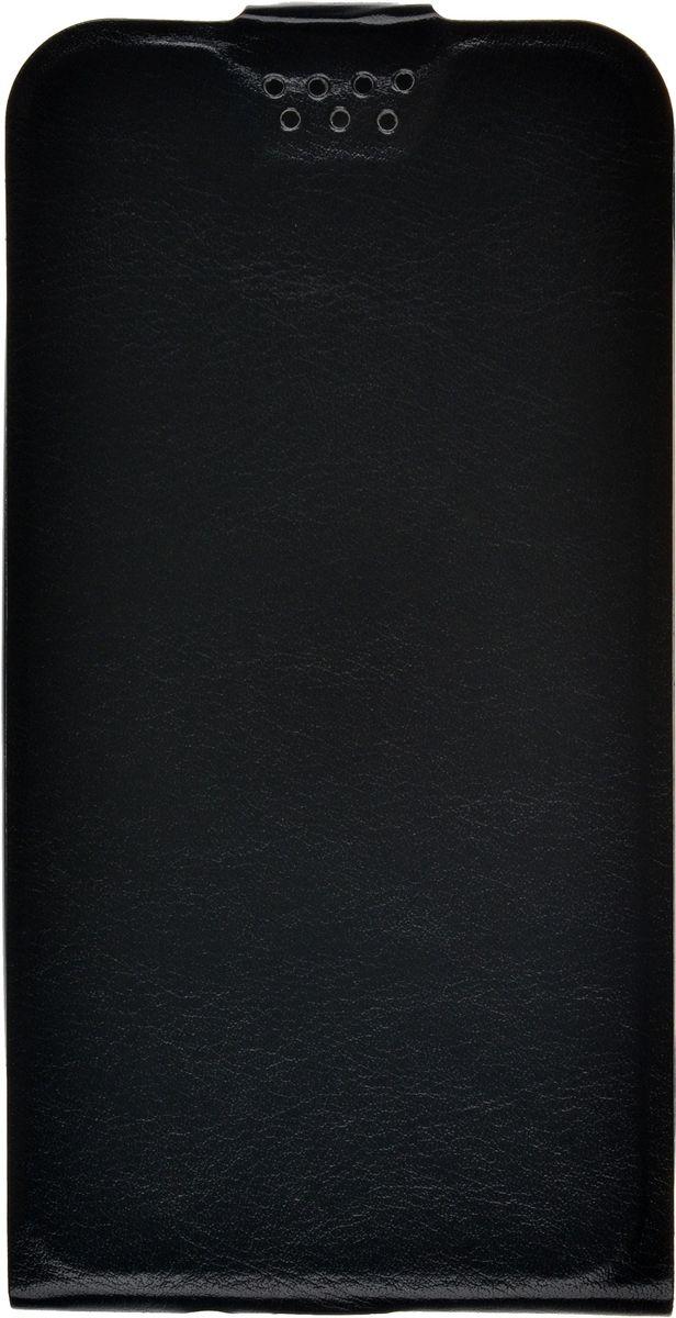Skinbox Slim флип-чехол для Asus Zenfone Go ZB452KG, Black2000000092447Флип-чехол Slim skinBOX Asus Zenfone Go ZB452KG надежно защищает ваш смартфон от внешних воздействий, грязи, пыли, брызг. Он также поможет при ударах и падениях, не позволив образоваться на корпусе царапинам и потертостям. Чехол обеспечивает свободный доступ ко всем функциональным кнопкам смартфона и камере.