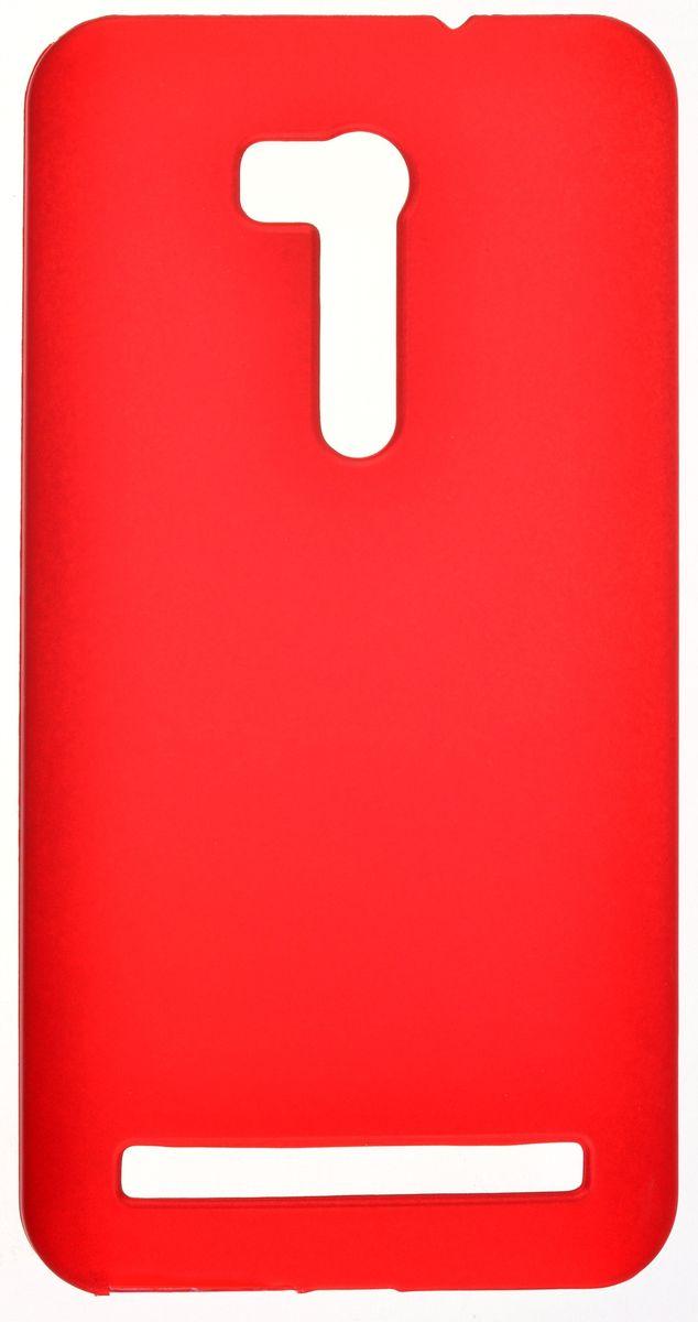 Skinbox Shield Case 4People чехол-накладка для Asus Zenfone Go ZB551KL, Red2000000092522Чехол Skinbox Shield Case для Asus Zenfone Go ZB551KL надежно защитит ваш смартфон от внешних воздействий, грязи, пыли, брызг. Он также поможет при ударах и падениях, не позволив образоваться на корпусе царапинам и потертостям. Чехол обеспечивает свободный доступ ко всем функциональным кнопкам смартфона и камере.