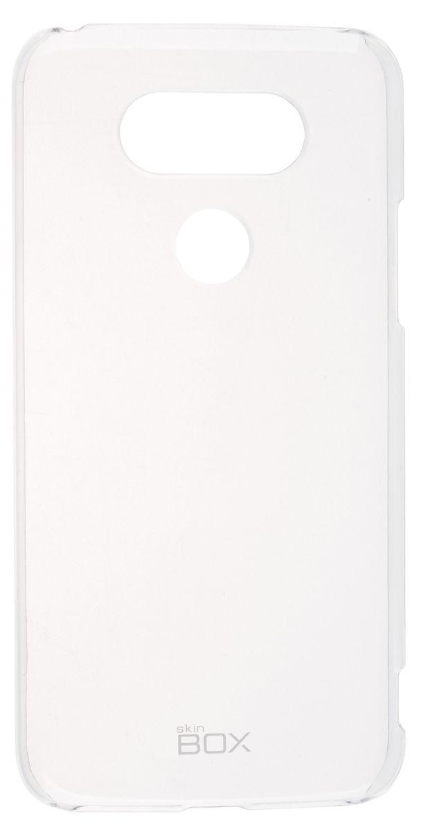 Skinbox Crystal 4People чехол-накладка для LG G5, Clear2000000092607Чехол Skinbox Crystal 4People для LG G5 надежно защитит ваш смартфон от внешних воздействий, грязи, пыли, брызг. Он также поможет при ударах и падениях, не позволив образоваться на корпусе царапинам и потертостям. Чехол обеспечивает свободный доступ ко всем функциональным кнопкам смартфона и камере.