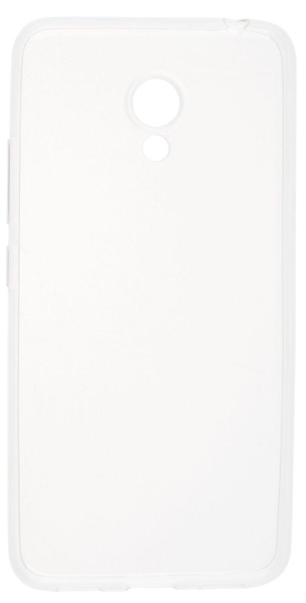 Skinbox Slim Silicone чехол-накладка для Meizu M3 mini, Clear