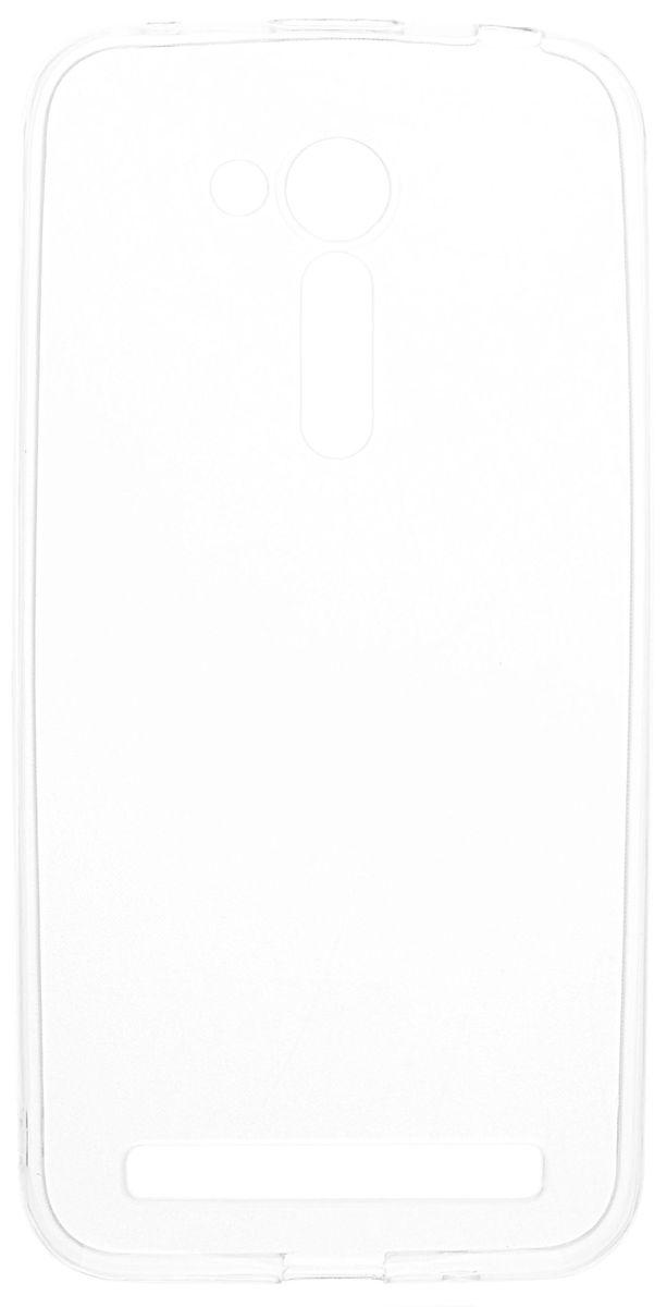 Skinbox Slim Silicone чехол-накладка для Asus Zenfone Go ZB452KG, Clear