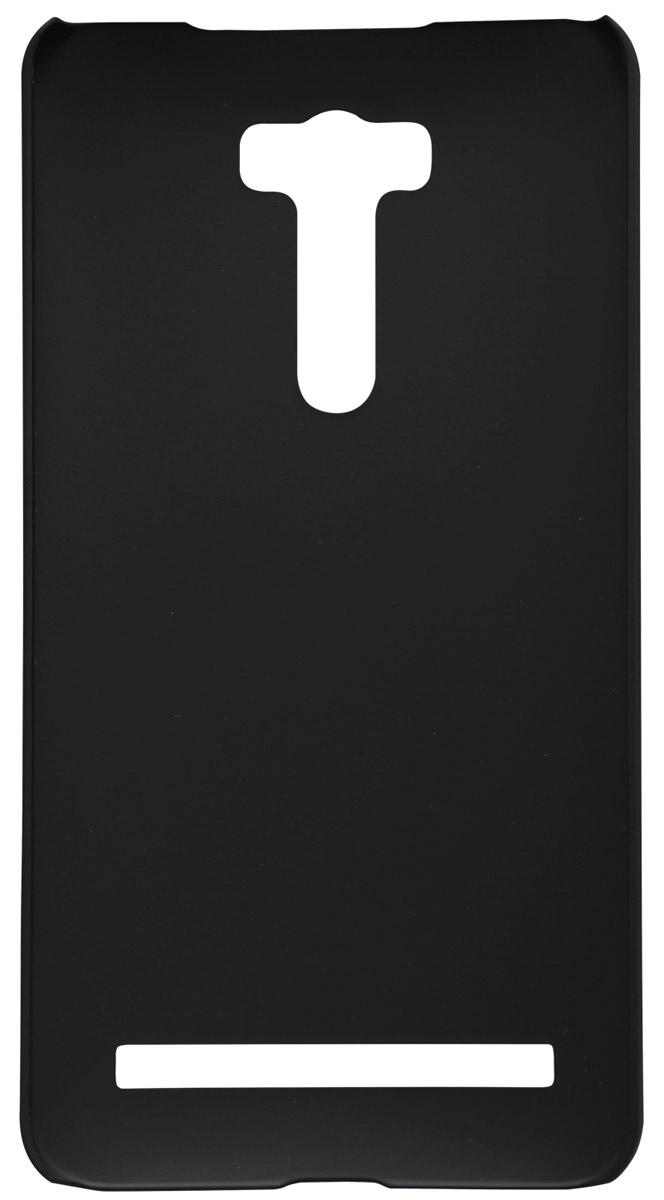 Nillkin Super Frosted Shield чехол для Asus Zenfone Laser 2 (ZE601KL), Black2000000087733Накладка Nillkin Super Frosted Shield для Asus Zenfone Laser 2 (ZE601KL) надежно защищает ваш смартфон от внешних воздействий, грязи, пыли, брызг. Она также поможет при ударах и падениях, не позволив образоваться на корпусе царапинам и потертостям. Чехол обеспечивает свободный доступ ко всем функциональным кнопкам смартфона и камере.