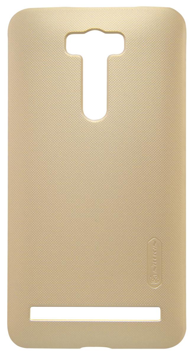 Nillkin Super Frosted Shield чехол для Asus Zenfone Laser 2 (ZE601KL), Gold2000000093963Накладка Nillkin Super Frosted Shield для Asus Zenfone Laser 2 (ZE601KL) надежно защищает ваш смартфон от внешних воздействий, грязи, пыли, брызг. Она также поможет при ударах и падениях, не позволив образоваться на корпусе царапинам и потертостям. Чехол обеспечивает свободный доступ ко всем функциональным кнопкам смартфона и камере.