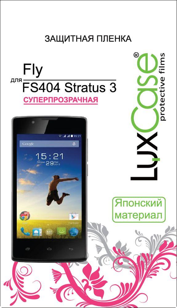 LuxCase защитная пленка для Fly FS404 Stratus 3, суперпрозрачная