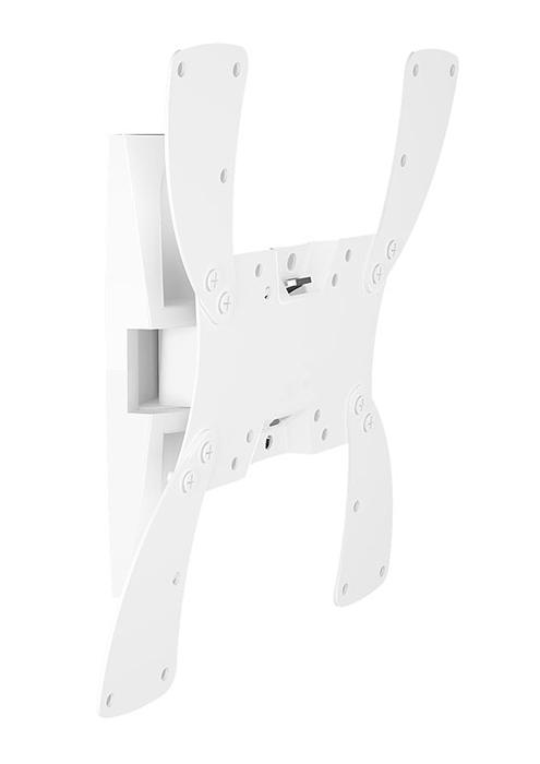 Holder LCDS-5019М, White кронштейн для ТВLCDS-5019М, белыйКрепление для ТВ и мониторов Holder LCDS-5019 – многофункциональное устройство с наклонно-поворотным механизмом настройки.