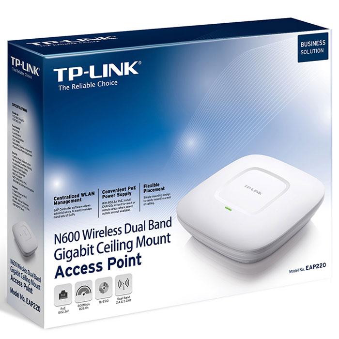 TP-Link EAP220 N600 беспроводная точка доступа с PoE