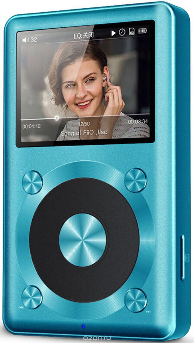 Fiio X1, Blue Hi-Res плеер