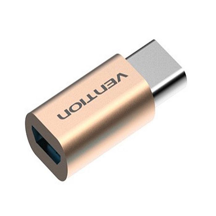 Vention VAS-S10-G, Gold адаптер-переходник USB Type C M-USB 2.0 micro B 5pin FVAS-S10-GПереходник Vention предназначен для подключения оборудования с разъемом стандарта USB 3.1 к устройствам с разъемом micro USB. Незаменим при подключении, например, кабеля USB 2.0 с разъемом micro B к MacBook. Продукция соответствует следующим сертификатам: RoHS, CE, FCC, TIA, ISO Тип разъема: USB Type C M / USB 2.0 micro B 5pin Контакты: никелированные Пропускная способность интерфейса: до 480 Мбит/с Совместимость: USB 2.0 / 3.1 Тип оболочки: АБС-пластик