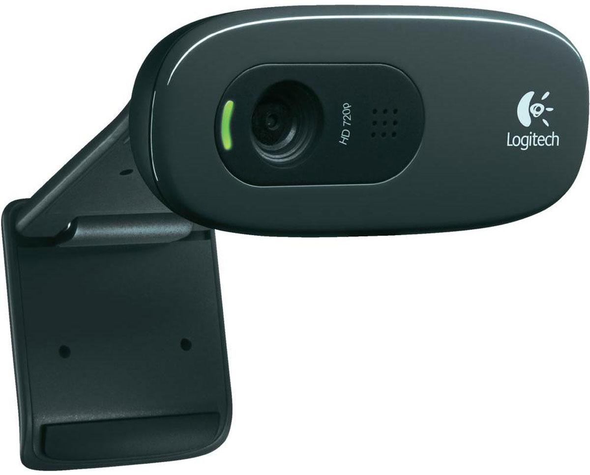 Logitech C270, Black веб-камера960-001063Веб-камера Logitech C270 - действительно простые видеовызовы в формате высокой четкости с разрешением 720p через большинство основных клиентов для обмена мгновенными сообщениями, включая Logitech Vid HD. Видеовызовы высокой четкости: Видеовызовы в формате высокой четкости с разрешением 720p через большинство распространенных клиентов для обмена мгновенными сообщениями и через Logitech Vid HD. Фотографии с разрешением 3 мегапикселя: Если недостаточно времени для видеовызова, можно легко снять фотографии (с программной обработкой). Включает Logitech Vid HD: Теперь видеовызовы высокой четкости стали бесплатными, быстрыми и простыми для вас и всех, с кем вы хотите общаться. Функция видеовызовов входит в конфигурацию веб-камеры, так что можно сразу же начинать общаться. Встроенный микрофон с технологией RightSound: Обеспечивает чистое звучание без неприятных фоновых шумов при разговоре. Технология...