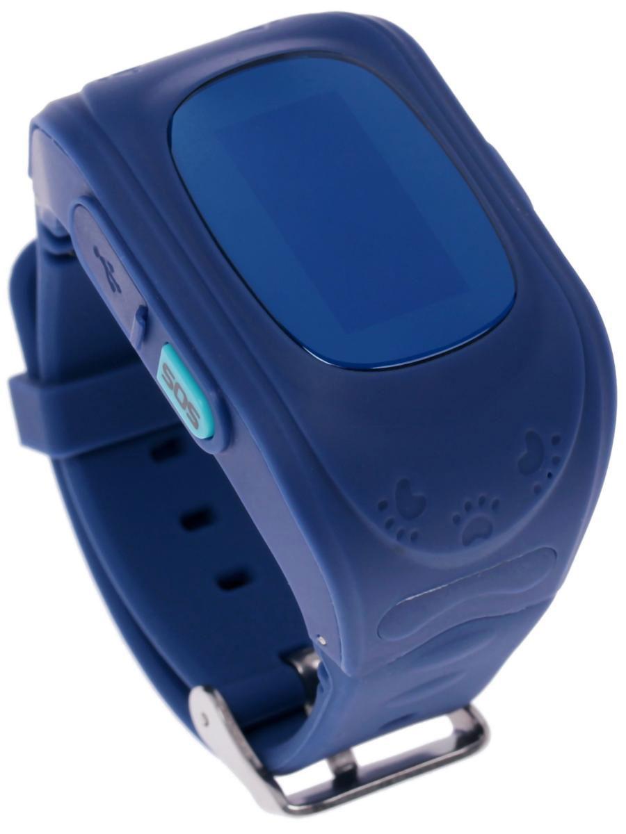 Кнопка жизни К911, Blue часы-телефон с GPS-геолокацией